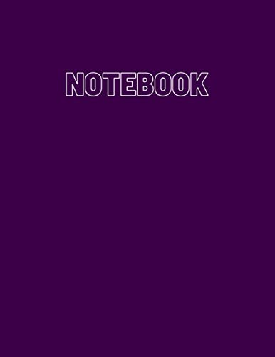 Notebook: Size (8.5 x 11 inches) 100 Pages: Lined Paper: lined paper