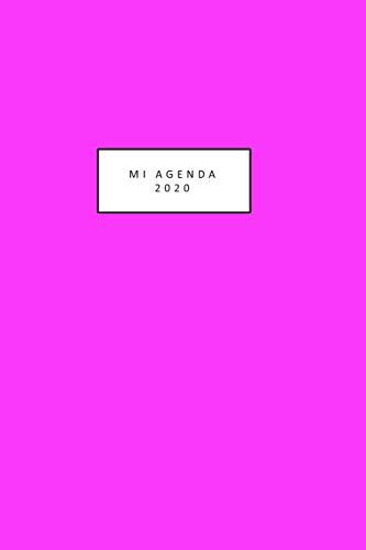 mi agenda 2020: linda agenda 2020 para colorear mientras te mantienes organizada hermosas ilustraciones de gato desde 1 de enero al 31 de diciembre ... tamaño 6 in x 9 in( en español) 203 hojas