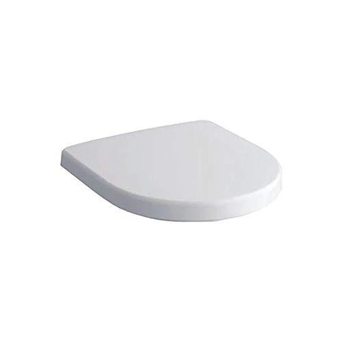 Geberit WC-Sitz Renova Nr. 1 Plan (Farbe weiß, mit Absenkautomatik, Befestigung von oben) 573085000