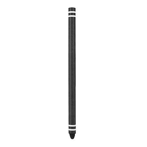 Dpofirs Penna Digitale Touch Screen per Smartphone e Tablet, Penne capacitive a Colori Lunghi ad Alta sensibilità e Scrittura fluida per messaggistica, Gioco, Disegno, ECC.(Nero)