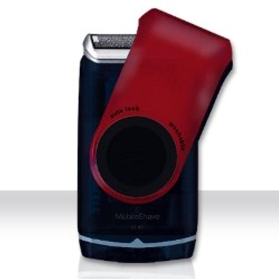海軍リールパステルブラウン モバイル ポケット シェーバー M60 赤 電池式 並行輸入品