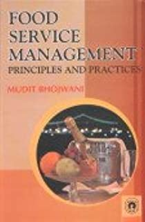Food Service Management: Principles and Practice