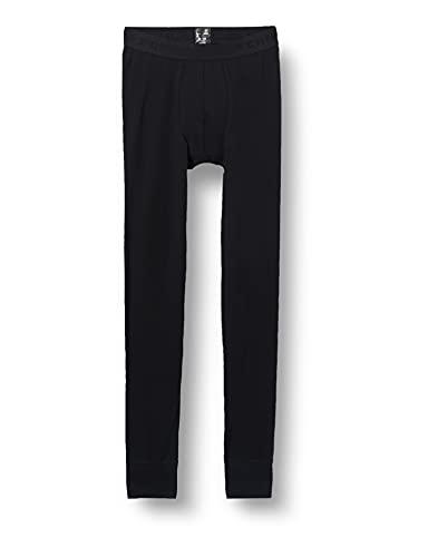 Schiesser Jungen Lange Unterhose Unterwäsche, schwarz, 152
