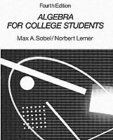 Algebra for College Students: An Intermediate Approach 0130215848 Book Cover