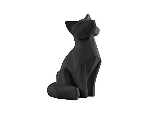 Present Time - Statue Renard Noir Small Origami