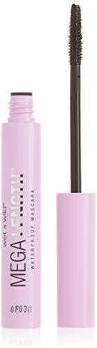 wet n wild Mega Length Waterproof Mascara, Very Black, 0.21 Ounce