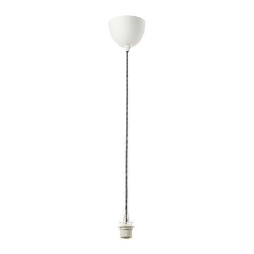 IKEA Sekond Cord-Set 303.863.12, schwarz-weiß, Größe 1,5 m (11 Zoll)