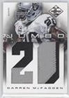 Darren McFadden #23/25 (Football Card) 2012 Limited - Jumbo Materials - Jersey Numbers Prime #16