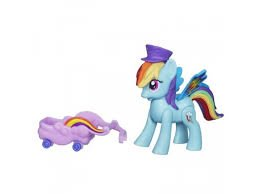 Poneys Hasbro My Little Pony Bouncing, bleu
