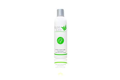 AloeLife Cosmetics Gel Aloe Vera Puro  Hidratante Natural, Locin Refrescante y Calmante para Despus del Sol, reduce la Piel Irritada