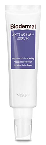 Biodermal Anti Age Gezichtserum 50+ - speciaal ontwikkeld tegen huidveroudering - 30ml