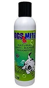 Dogs n Mite Anti Mange Shampoo, Treatment for Dogs and Puppies with Problem Skin - 6.0 oz