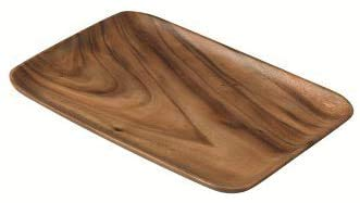 INSTO Rectangular Serving Tray 36×24Cm, Acacia Wood Tableware
