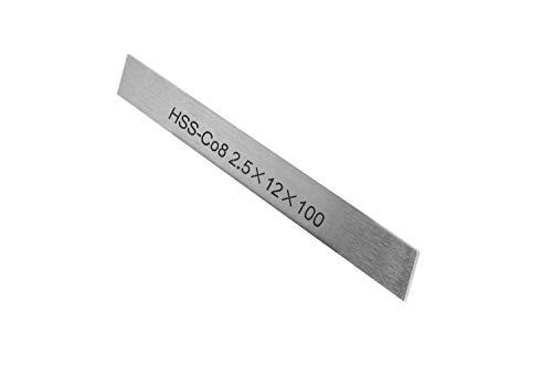 PAULIMOT HSS-Ersatzmesser 2,5 x 12 x 100 mm (8% Kobalt) für Abstechstahlhalter