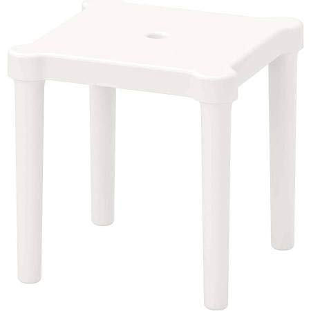IKEA Utter Kinderhocker für drinnen und draußen, weiß