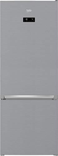Beko RCNE560E50ZXPN Kühl-Gefrierkombination/NoFrost/Smooth Fit/3 Gefrierschubladen/HarvestFresh/Everfresh+/ HxBxT: 192x70,4x74,8 cm