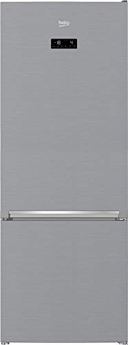 Beko RCNE560E40ZXBN Kühl-Gefrierkombination/NoFrost/Smooth Fit/3 Gefrierschubladen/HarvestFresh/Everfresh+/ HxBxT: 192x70,4x74,8 cm