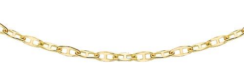 Carissima Gold Damen 9k (375) Gelbgold 0.9mm Flach Rambo Kette 1.16.2034 46cm/18zoll