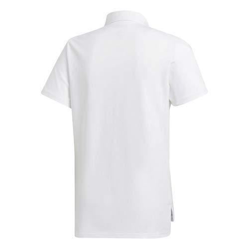 Adidas Real Madrid Temporada 2020/21 Polo Oficial, Unisex, Blanco, XL