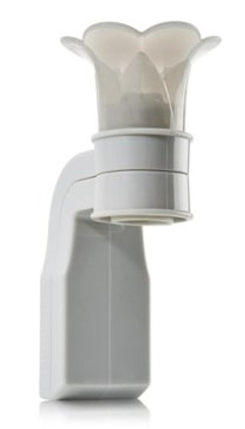 マイルディプロマ世界の窓Bath & Body Works【バス&ボディーワークス / ルーム フレグランス ホルダー / グレー フラワートップ】並行輸入品