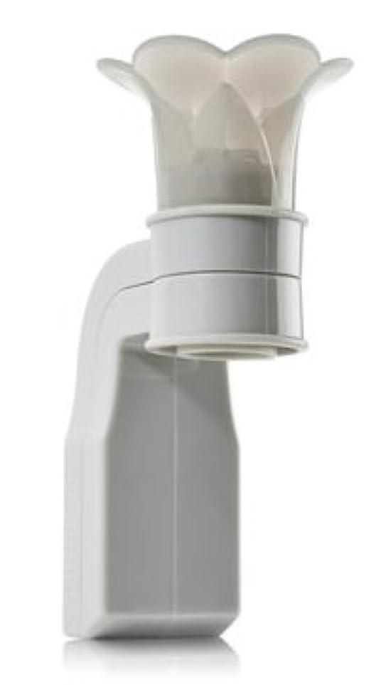 サイトライン装備する化学者Bath & Body Works【バス&ボディーワークス / ルーム フレグランス ホルダー / グレー フラワートップ】並行輸入品