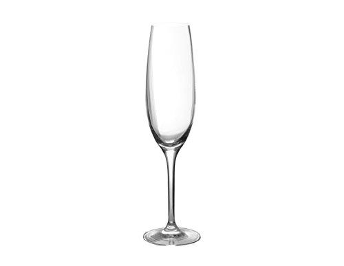 Sèvres Kreuzblumen-Immer Cristal-Set von Zwei Gläser Flötenetui, Champagner