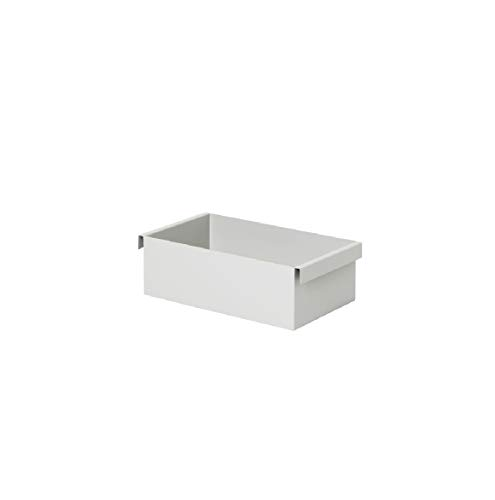 Ferm Living Container, Metall, Light Grey, 7,6x25,7x14,7