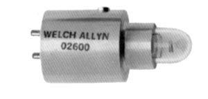Welch Allyn 02600-u lámpara halógena para faros, 6.0V