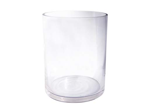 Royal Sparrow Design's Heavy Bottom Glass Candle Holder for 4 inch Pillar Candles