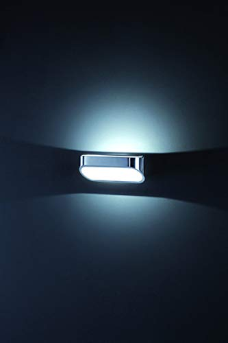 Helestra LED-Wandleuchte 1-flammig Onno Farbe: Aluminium matt/Weiß matt