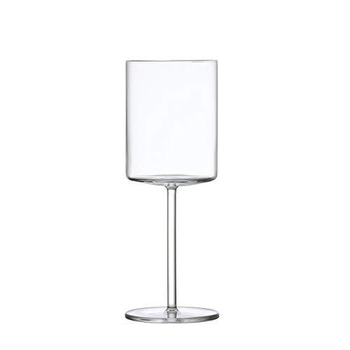 Schott Zwiesel Tritan Crystal Modo Stemware - Copas de vino tinto (4 unidades), transparente