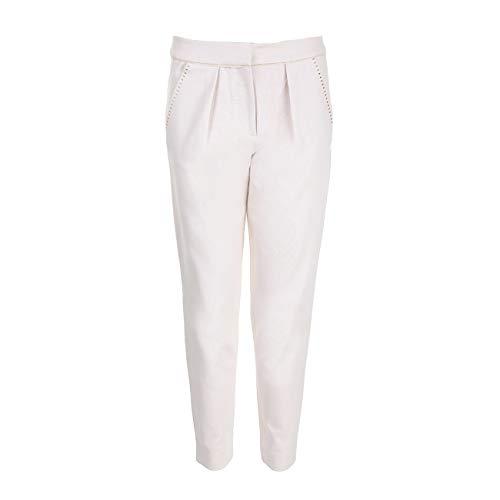Hoss Intropia - Pantalón - para Mujer Blanco Marfil 36 Regular