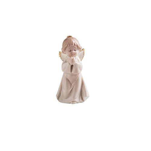 Glover Decoración nórdica para el hogar, pequeño ángel Creativo, decoración para Sala de Estar, Bonito Escritorio de cerámica, muñeca de Dibujos Animados, decoración de Pasteles, decoración
