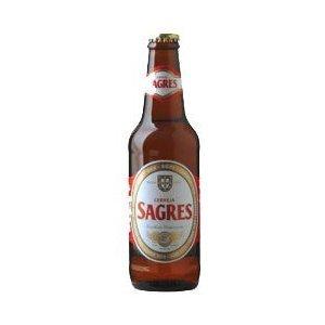 Sagres - Portugués Cerveza - 24 x 330ml - Alcohol. 5,1%