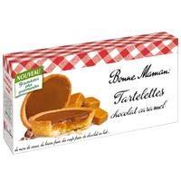 Bonne Maman Tartelettes Chocolat Bargain sale Manufacturer OFFicial shop Lait 135g Caramel x9