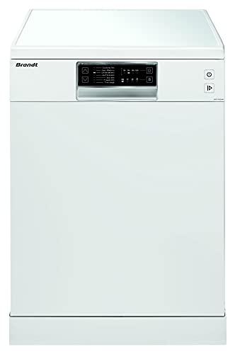 DSF13526W – Lavavajillas de instalación libre, 13 cubiertos – 7 programas – Opción de inicio diferido 12 h – 46 dB – 50 Hz – blanco
