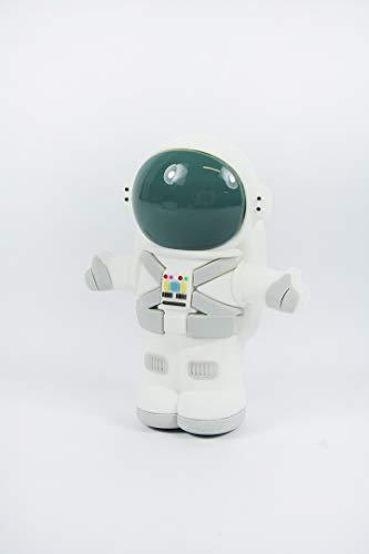 Mojipower Batería Externa para móvil, Power Bank 2600 mAh, Divertida, Colorida, diseño, Forma Astronauta, Luna, Espacio