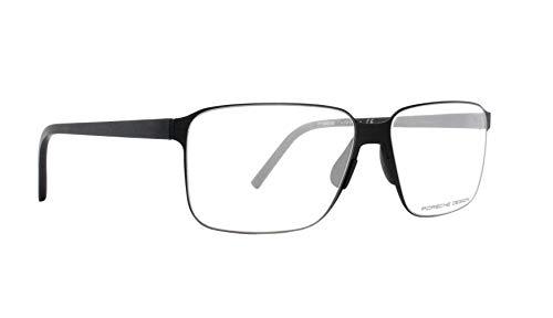 Porsche Design Brille (P-8313 A) Acetate Kunststoff - Metall schwarz matt