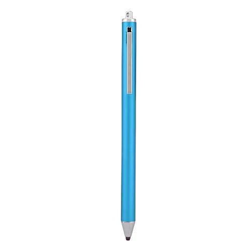 Dpofirs Lápices Ópticos Universales de Pantalla Táctil, Lápices Capacitivos de Alta Sensibilidad y Precisión con Punta Fina, Lápiz Digital Activo para Tabletas y Celulares, Opcionales(Azul)