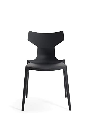 Kartell Re-Chair - Silla (50,5 x 79 x 49 cm), color gris