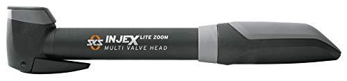 SKS GERMANY INJEX LITE ZOOM Minipumpe (Zweikomponentenkunststoff, Druck max.:10 bar / 144 PSI, Teleskopfunktion, 2 Punkt-Pumpenhalter, Staubschutzkappe), Schwarz