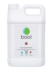 boo! Plus - Extra Starkes Insektenspray - Insektenschutz als Spray Gegen Mücken, Milben, Bettwanzen Etc - Insektizid auf Wasserbasis- Langzeitwirkung von bis zu 3 Monaten - 2 Liter