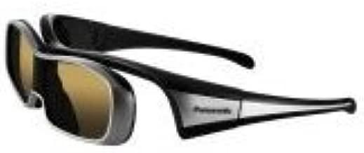 Panasonic TY-EW3D10U 3D Active Shutter Eyewear for Panasonic 3D HTDVs, Black and Silver (2010 Model)