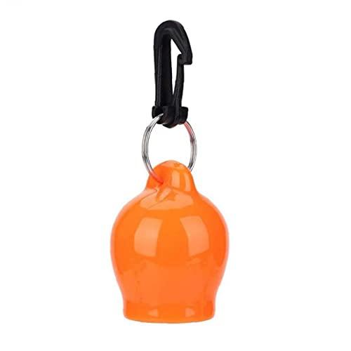 Liadance Tapa de Buceo Boquilla de Silicona a Prueba de Polvo Cubierta termoplástica Boquilla Tapa Protectora Pulpo Titular de Buceo de Accesorios de Orange