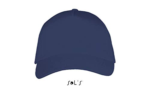 SOL´S Five Panels Cap Long Beach, One Size, French Navy