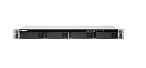 Qnap TS-451DeU-2G J4025 Ethernet LAN Rack (1U) Schwarz, Grau NAS