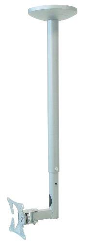 My Wall HL4-1L - Sostegno da soffitto per schermo piatto fino a 76 cm (30 pollici), colore: Argento