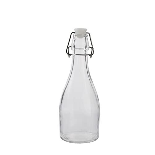 FSHB 350ml / 500ml / 1100ml Frasco de Botella de Vidrio con Hebilla sellada Frasco portátil de Jugo de Agua para Vino Tanque de Almacenamiento frascos para contenedores de Alimentos