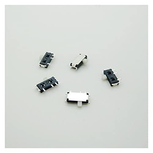 YSJSPKK Interruptores de Palanca 20pcs MSK-12C02 Interruptor de alimentación de 7 Pines SMD 7PIN Micro Interruptor de Palanca Componente electrónico