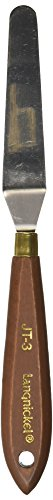 "Royal Brush JT-3 Palette Knife, Flexible, High-Grade Steel, 3"" Size, 1.4"" Height, 0.9"" Width, 8.1"" Length"